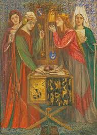 Music Makes A Frequent Appearance In Pre Raphaelite Paintings Complementing Delights For The Eye With Pleasures Ear Highly Ornamented Works Such