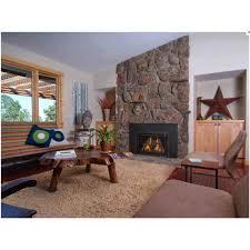 Regal Flame Ashford 50 Inch Black Ventless Heater Electric Wall Mounted Fireplace Log