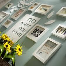 bilderrahmen collage brief pastoralen schlafzimmer