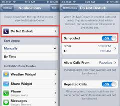Set Up Do Not Disturb Mode on iPhone and iPad iPod Apple Tips