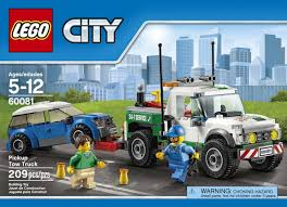 100 Lego City Tow Truck Great Vehicles LEGO 209 PCS Pickup Brick Box Building