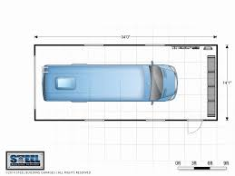 Steel Building Homes Floor Plans Awesome Rv Garage Dog House Garages Plan For