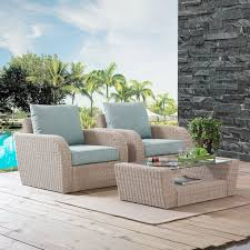 Shop St Augustine 3 Pc Outdoor Wicker Seating Set With Mist Cushion ... Red Barrel Studio Dierdre Outdoor Wicker Swivel Club Patio Chair Cosco Malmo 4piece Brown Resin Cversation Set With Crosley Fniture St Augustine 3 Piece Seating Hampton Bay Amusing Chairs Cushions Pcs Pe Rattan Cushion Table Garden Steel Outdoor Seat Cushions For Your Riviera 4 Piece Matt4 Jaetees Spring Haven Allweather Amazoncom Festnight Ding Of 2
