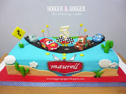 Hogger&Gogger Cars Birthday Cake