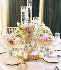 Spring Wedding Table Centerpiece Design