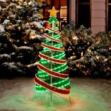 Light Up Outdoor Tree Ornaments Gallery