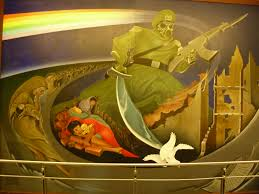 Denver International Airport Murals photo denver mural of death