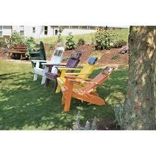 Polywood Folding Adirondack Chairs by Poly Folding Reclining Adirondack Chair