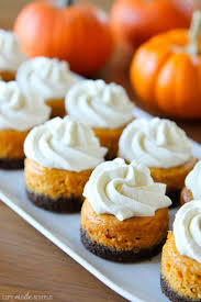 Pumpkin Pie With Gingersnap Crust Gluten Free by Mini Pumpkin Cheesecakes With Gingersnap Crusts Life Made Simple