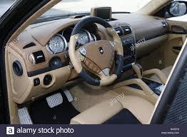 Gemballa GT 750 Porsche Cayenne Interior Leather ball beige