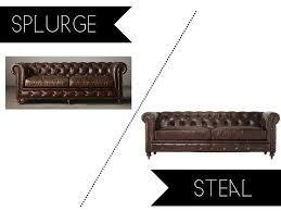 die besten 25 tufted leather sofa ideen auf pinterest