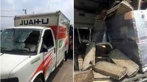 100 U Haul Truck Gas Calculator With 2 Million In Gold Silver Crashes NBC 5 Dallas