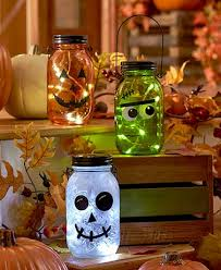 Halloween Pathway Lights Stakes by Outdoor Solar Lighting Lanterns Led String Lights Lakeside