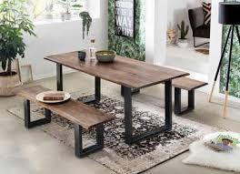 sit esstisch tops tables mit tischplatte aus akazie mit baumkante wie gewachsen