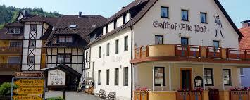 gasthof pension alte post urlaub in der fränkischen schweiz