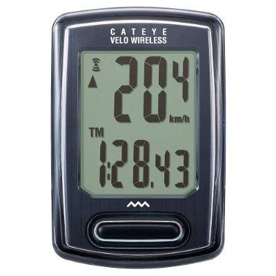 Cateye Velo Bike Cyclo Computer - Wireless, Black