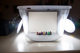DIY Tutorial Light Box for Bloggers Tips from a Typical Mom