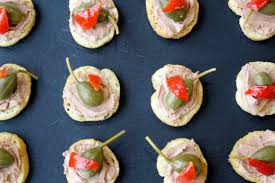 pate canapes and easy canapés recipes olive magazine