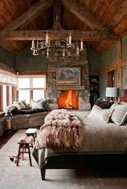 Romantic Rustic Such A Beautiful Dreamy Room Fur Throws And Wooden Beams