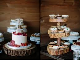 The Dessert Table Offered A Cutting Cake Selection Of Pies And Mini