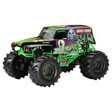 Monster Jam Grave Digger | Meijer.com Remote Control Grave Digger Monster Jam Truck By Traxxas 124 Scale Die Cast Metal Body Cjd20 Personalized Iron On Transfers Ons Fingerhut New Bright Mj Remotecontrol Hot Wheels Trucks Toysrus Rc Grave Digger Industrial Co Power Ride On Crushes Power Wheels Grave Digger Monster Truck Uvanus Action 12 Volt Youtube Decals Modifiedpowerwheelscom