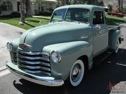 100 1951 Chevy Truck For Sale Chevrolet 3100 Pickup 5 Window Shortbed 1947 1948 1949 1950