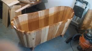 Cast Iron Bathtub Refinishing Seattle by Wooden Bathtubs U2022 Nifty Homestead