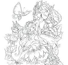 Free Collection Of 40 Coloring Pages Baby Fairies