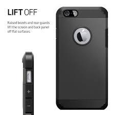 coque armor pour iphone 4 4s noir grisé coussin d air housse