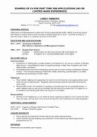 Work Experience Resume Examples Elegant Template For Job Application Robertottni