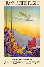 Pan Am Hawaiian Travel Poster