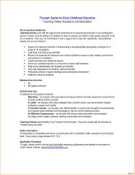Paraeducator Resume Sample Inspirationa For Paraprofessional Position