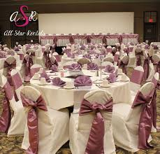 Orchid Chair Cover Wedding! | Chair Covers & Ties | Wedding ...