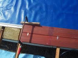 margelle piscine en bois plage 1 construction de ma piscine