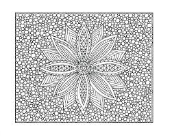 Free Coloring Pages Adults Printable Hard Color For To Abstract Christmas Full Size
