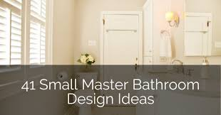 41 small master bathroom design ideas sebring design build