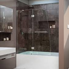 Home Depot Bathtub Doors by Best 25 Tub Glass Door Ideas On Pinterest Bathtub With Glass