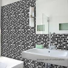 10x 3d marmor mosaik selbstklebend bad küche wand treppe