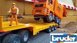 100 Garbage Truck Accident BRUDER Garbage Truck CRASH YouTube