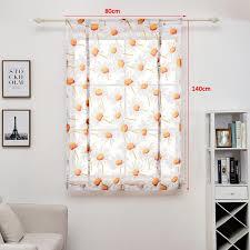 großhandel 80 140 cm vorhänge moderne schlafzimmer wohnzimmer tulle fenster drapieren valance blume gedruckt gardine kurz gardinen wohnkultur dbc