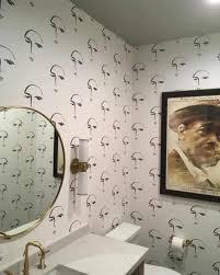 bad tapeten ideen wand zimmer hintergrund badezimmer