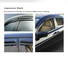 JDM Window Visor | JDM Window Deflectors | Side Window Visor | Rain ... Rain Guards Inchannel Vs Stickon Anyone Know Where To Get Ahold Of A Set These Avs Low Profile Door Side Window Visors Wind Deflector Molding Sun With 4pcsset Car Visor Moulding Awning Shelters Shade How Install Your Weathertech Front Rear Deflectors Custom For Cars Suppliers Ikonmotsports 0608 3series E90 Pp Splitter Oe Painted Dna Motoring Rakuten 0714 Chevy Silveradogmc Sierra Crew Wellwreapped Kd Kia Soul Smoke Vent Amazing For Subaru To And