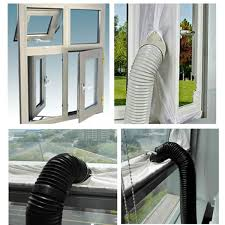 Amazon.com: JOYOOO AirLock Window Seal For Mobile Air-Conditioning ... Awning Exist Fenster Components Installing A Portable Air Best 25 Window Ac Unit Ideas On Pinterest Home Units Small An Inwall Cditioner Unit Vent Kit For Casement Stunning Windows To Install Sliding How Fan Windows Fresh Mounting A Standard In From The Any Upright Portable Ac Into Casement Window 30 Ac In To Sylvane