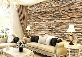 tapete steinoptik wohnzimmer steintapetewohnzimmerbilder