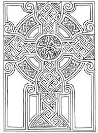 Celtic Coloring Pages Pattern Coloringmates