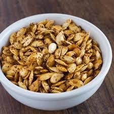 Toasting Pumpkin Seeds In Microwave by Roasted Pumpkin Seeds No Oil No Salt Nutritarian The