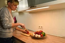 instalux neptune dimmbare led unterbauleuchte 30cm flächenleuchte mit bewegungssensor ideal für küche und arbeitsplatz