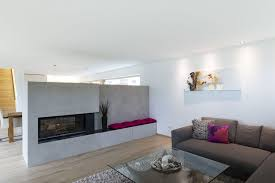 einfamilienhaus rankweil modern massivbau l form moderne