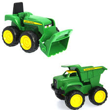 100 John Deere Toy Trucks S 6 Sandbox Truck And Tractor Set At Stop