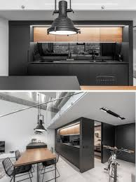 100 Interior Loft Design A Lithuanian With A Monochrome And Wood Material Palette